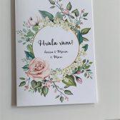 Pozivnica zahvalnica - Vjenčanje