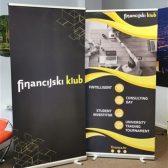 Roll up banner - Financijski klub