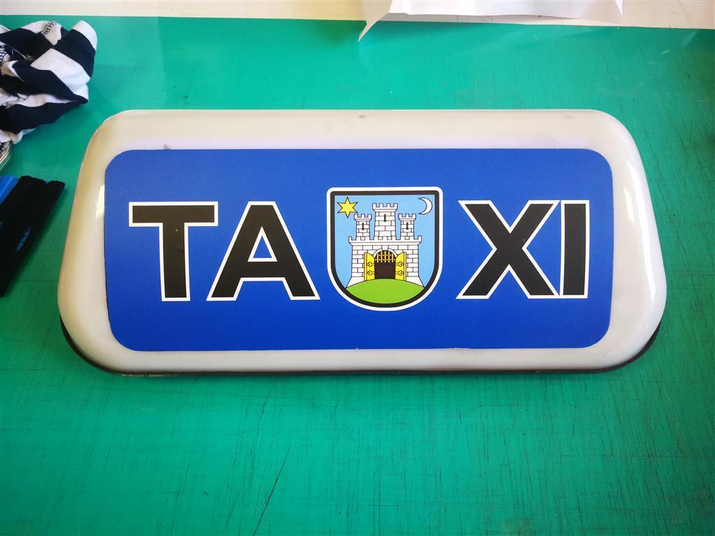 Taxi krovna oznaka naljepnica