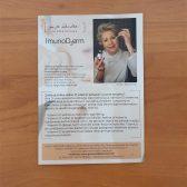 Letak print flyer - Imunoderm 1