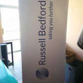 Roll up banner - Rusel bedford