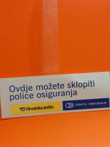 Vobler označivač cijena - Croatia osiguranje