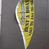 Beach flag - Rent a boat