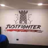 Oslikavanje privatne teretane - Justfighter