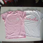 Tisak na majice za djevojačku