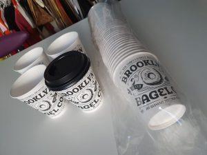Papirnate čaše - Brooklyn bagle