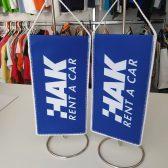Stolna zastavica - HAK