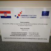 Plexi reklama svjetleća EU fondovi