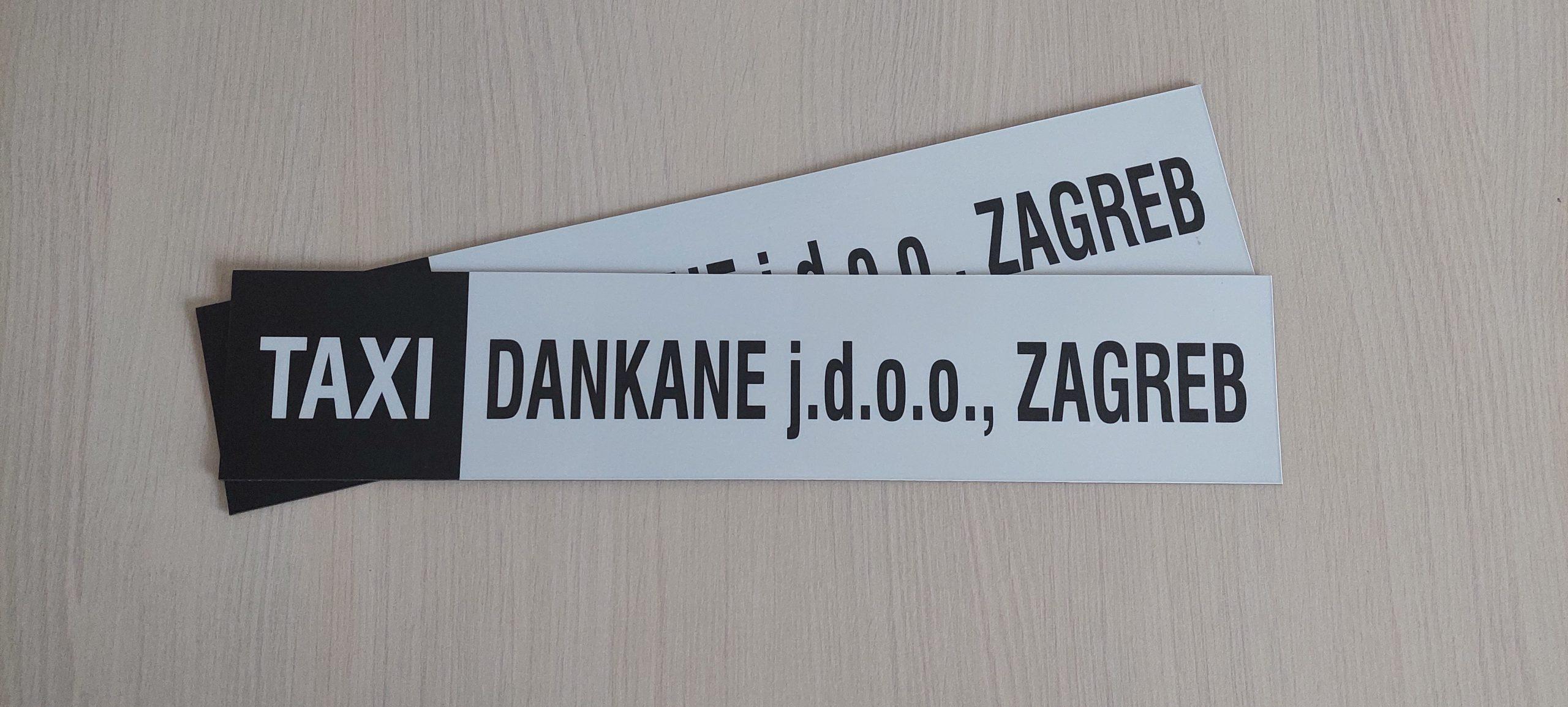 Read more about the article Magnetne naljepnice za taxi vozila
